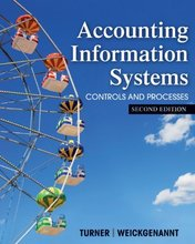 Accounting Information Systems The Processes and Controls Turner 2nd Edition Test Bank