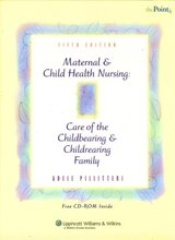 Maternal and Child Health Nursing Care of the Childbearing and Childrearing Family Pillitteri 5th Edition Test Bank