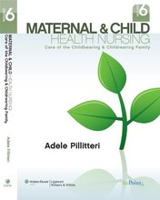 Maternal and Child Health Nursing Care of the Childbearing and Childrearing Family Pillitteri 6th Edition Test Bank