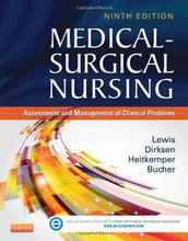 Medical-Surgical Nursing Assessment and Management of Clinical Problems Lewis 9th Edition Test Bank