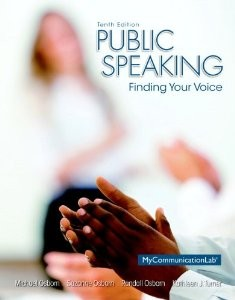 Test Bank for Public Speaking Finding Your Voice 10th Edition Michael Osborn