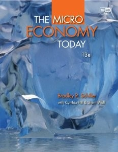 Test Bank for The Micro Economy Today 13th Edition Bradley Schiller