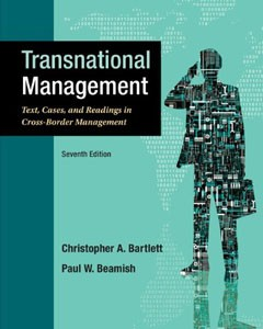 Test Bank For Transnational Management: Text, Cases & Readings in Cross-Border Management, 7 edition: Christopher Bartlett Downl