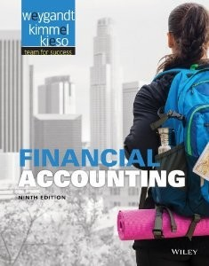 Solution manual for Financial Accounting Weygandt Kimmel Kieso 9th edition