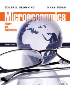 Solution manual for Microeconomics Theory and Applications Browning Zupan 11th edition