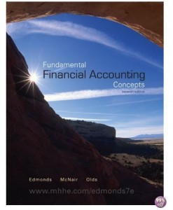 Solution Manual for Fundamental Financial Accounting Concepts 7th Edition by Edmonds