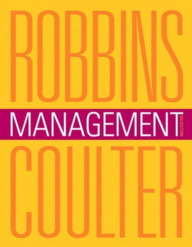 Management Robbins 12th Edition Test Bank