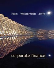 Corporate Finance Ross 10th Edition Test Bank