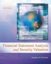 Financial Statement Analysis and Security Valuation Penman 5th Edition Test Bank