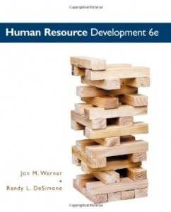 Test Bank for Human Resource Development, 6th Edition : Werner