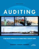 Solution manual for Auditing: A Risk-Based Approach to Conducting a Quality Audit Johnstone Gramling Rittenberg 9th Edition