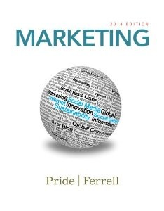 Test Bank for Marketing 2014, 17th Edition : Pride