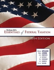 Test Bank for McGraw Hills Essentials of Federal Taxation 2014 2nd Edition Spilker