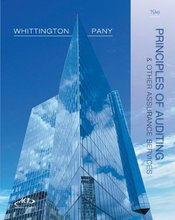 Principles of Auditing and Other Assurance Services Whittington 19th Edition Test Bank