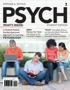 Test Bank for PSYCH, 3rd Edition : Rathus
