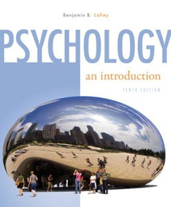 Test Bank For Psychology: An Introduction, 10 edition: Benjamin Lahey