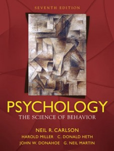 Test Bank for Psychology The Science of Behavior, 7th Edition: Carlson