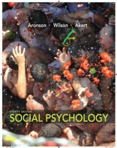 Test Bank for Social Psychology, 8th Edition : Aronson