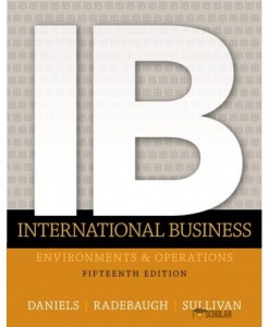 Solution Manual for International Business, 15/E 15th Edition : 0133457230