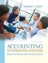Accounting Information Systems Hurt 3rd Edition Solutions Manual