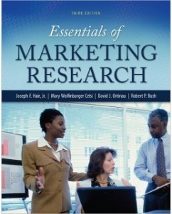 Test Bank for Essentials of Marketing Research, 3rd Edition: Joseph F. Hair, Jr.