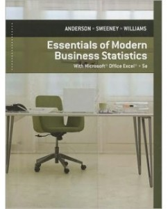 Test Bank for Essentials of Modern Business Statistics, 5th Edition: David R. Anderson