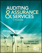 Test Bank For Auditing and Assurance Services in Australia by Grant Gay, Roger Simnett 4th edition