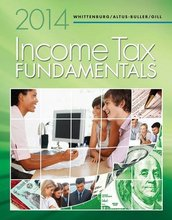 Income Tax Fundamentals 2014 Whittenburg 32nd Edition Test Bank, Chapters 1-5, 7-12