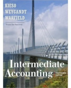 Test Bank for Intermediate Accounting, 13th Edition: Donald E. Kieso