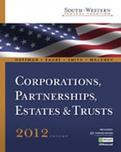 Test Bank for South Western Federal Taxation 2012 Corporations Partnerships Estates and Trusts, 35th Edition: Hoffman