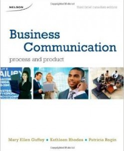 Test Bank for Business Communication Process & Product 3rd Edition Guffey Download