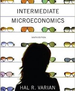 Test Bank for Intermediate Microeconomics A Modern Approach 9th Edition Hal R Varian Download