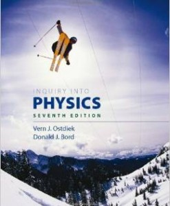 Test Bank for Inquiry into Physics 7th Edition Vern J Ostdiek Download