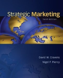 Test Bank for Strategic Marketing 10th Edition David Cravens Download