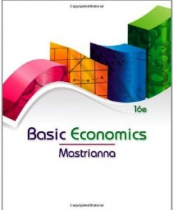 Test Bank for Basic Economics, 16th Edition : Mastrianna Download