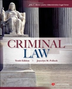 Test Bank for Criminal Law 10th Edition Joycelyn M Pollock Download