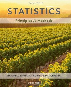 Test Bank for Statistics Principles and Methods 6th Edition Richard A Johnson Download