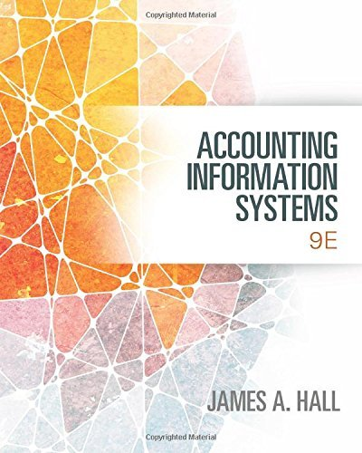Accounting Information Systems Hall 9th Edition Test Bank