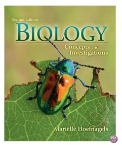 Test Bank for Biology Concepts and Investigations 2nd Edition by Hoefnagels