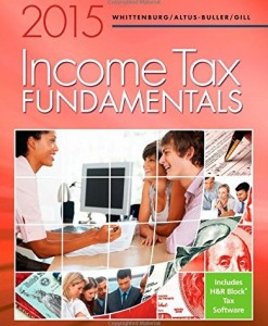 Income Tax Fundamentals 2015 Whittenburg 33rd Edition Solutions Manual