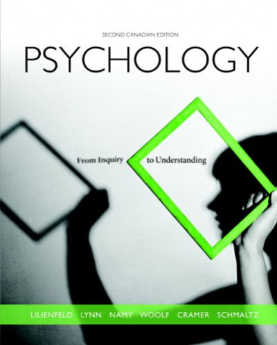 Psychology: From Inquiry to Understanding, 2e Canadian Test Bank