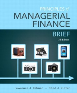 Principles of Managerial Finance Brief Gitman 7th Edition Test Bank