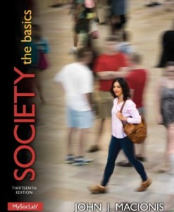 Society The Basics Macionis 13th Edition Test Bank