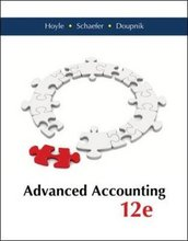 Advanced Accounting Hoyle 12th Edition Test Bank