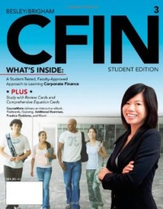 Test Bank for CFIN 3, 3rd Edition : Besley