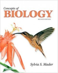 Test Bank for Concepts of Biology, 2nd Edition: Sylvia Mader