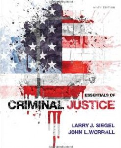 Test Bank for Essentials of Criminal Justice 9th Edition Larry J Siegel Download