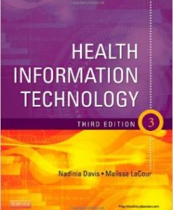 Test Bank for Health Information Technology 3rd Edition Nadinia A Davis Download