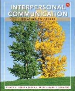 Test Bank for Interpersonal Communication Relating to Others 7th Edition Steven A Beebe Download