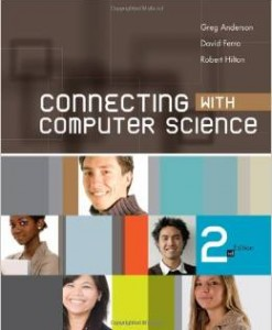 Test Bank for Connecting with Computer Science 2nd Edition Greg Anderson Download